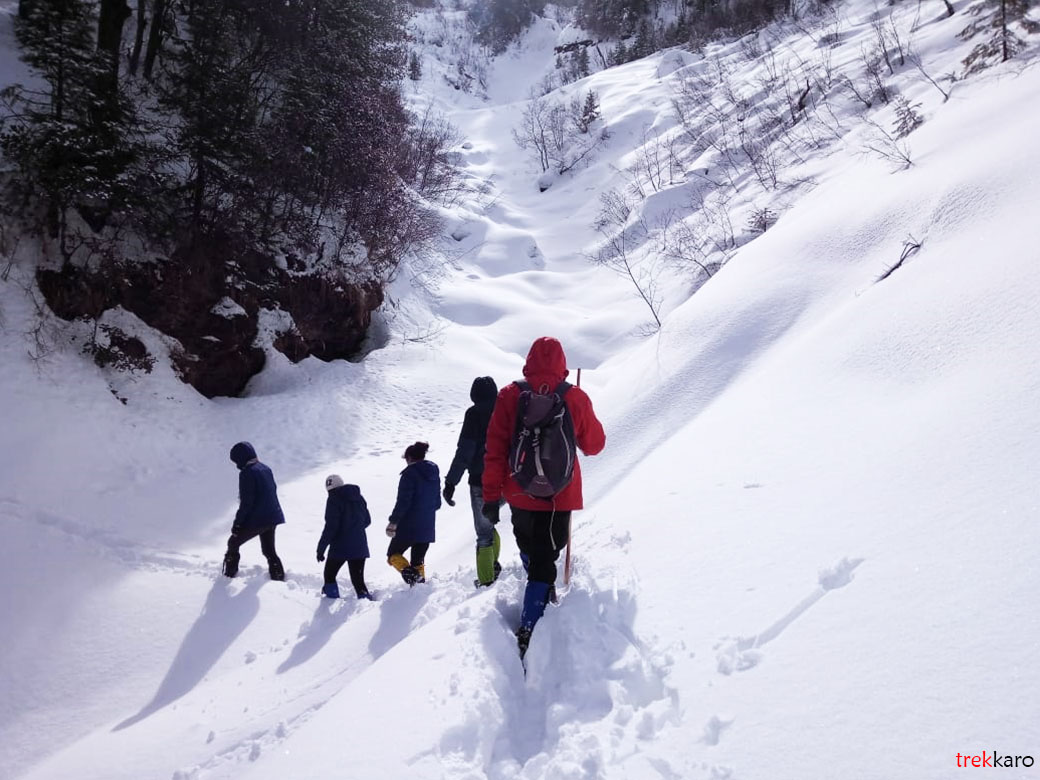 Hiking In Winters
